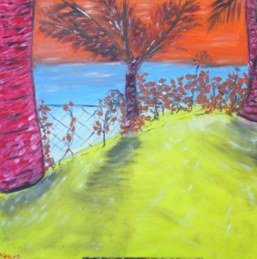 """Painting titled """"Hawaii"""" by Dave Trinel, Original Art, Oil"""