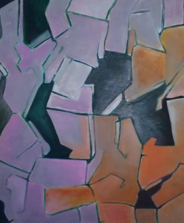 Painting, acrylic, abstract, artwork by Ariel Velez