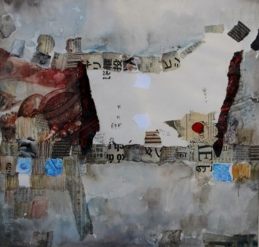 """Collages titled """"Silences"""" by Patrick Demelenne, Original Art, Collages"""