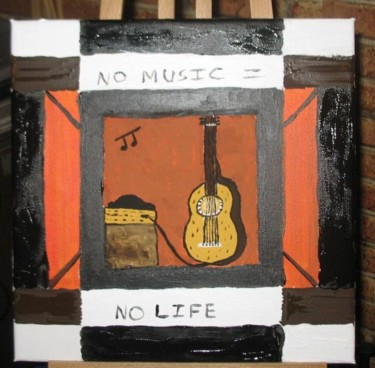 """Painting titled """"np music painting 0…"""" by Dharma Ginoux, Original Art,"""