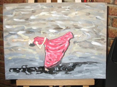 """Painting titled """"dance painting 2 00…"""" by Dharma Ginoux, Original Art,"""