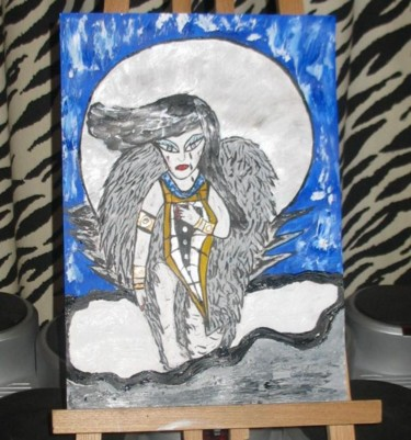 """Painting titled """"painting angle on a…"""" by Dharma Ginoux, Original Art,"""