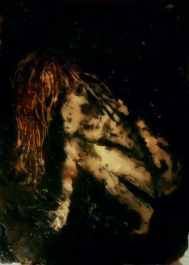"""Painting titled """"Trapped"""" by Diana Surge, Original Art, Soap"""