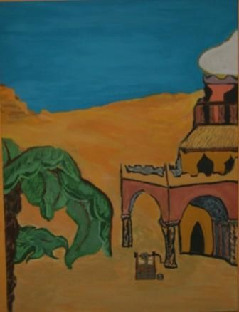 15.8x11.8 in ©2004 by Tahar Zouhani