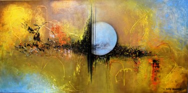 """Painting titled """"untiteled"""" by Dilip Shivhare, Original Art, Acrylic Mounted on Stretcher frame"""