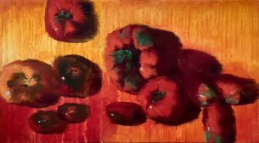 """Digital Arts titled """"Tomatoes. Another a…"""" by Dinara N, Original Art, Digital Painting"""