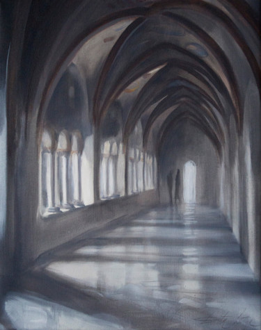 """Painting titled """"Vaults"""" by Dita Luse, Original Art,"""