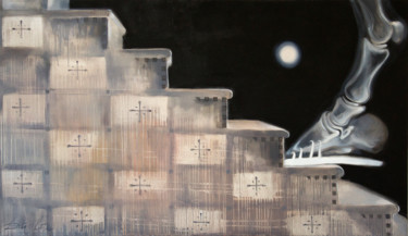 """Painting titled """"Steps"""" by Dita Luse, Original Art,"""