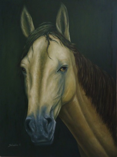 """Painting titled """"Alma"""" by G. Torres, Original Art, Oil"""