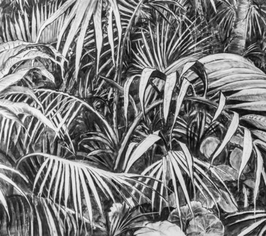 """Drawing titled """"Into the Wild"""" by Dominic Virtosu, Original Art, Charcoal"""