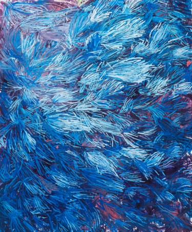 """Painting titled """"Windy Soul"""" by Dominic Virtosu, Original Art, Oil Mounted on Stretcher frame"""