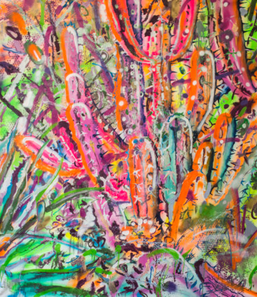 """Painting titled """"Chaos Theory"""" by Dominic Virtosu, Original Art, Oil Mounted on Stretcher frame"""