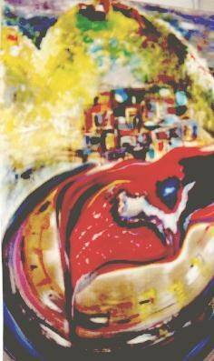 35.4x27.6 in ©1999 by Dominique BERTRAND