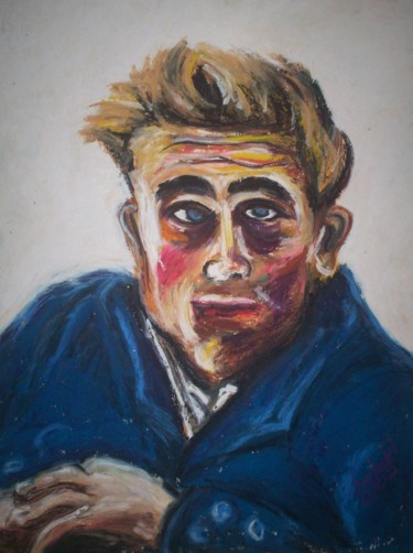 """Painting titled """"""""Dean"""""""" by Dondavid, Original Art, Oil"""