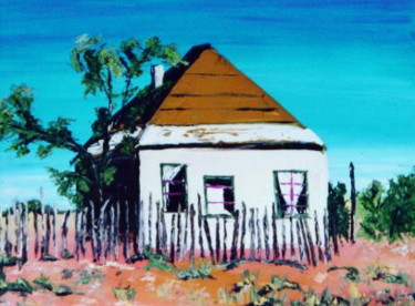 """Painting titled """"thehouses-021.jpg"""" by Dondavid, Original Art,"""