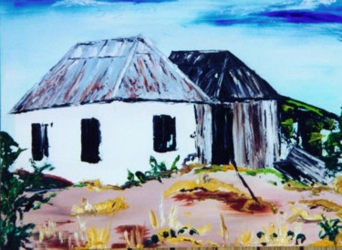 """Painting titled """"""""Ghost Town #2"""""""" by Dondavid, Original Art, Oil"""