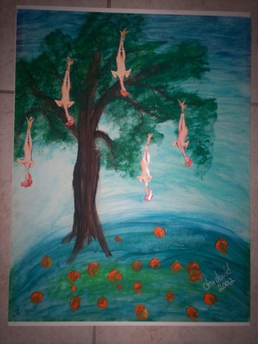 """Painting titled """"""""If God Meant For U…"""" by Dondavid, Original Art, Other"""