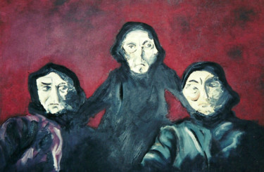 """Painting titled """"threewitches00172.j…"""" by Dondavid, Original Art, Oil"""
