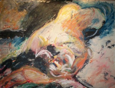 """Painting titled """"""""Suicide"""""""" by Dondavid, Original Art,"""