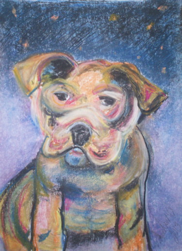 """Painting titled """"""""Buster"""""""" by Dondavid, Original Art,"""