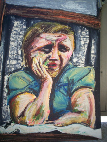 """Painting titled """"""""Johnny Come Home"""""""" by Dondavid, Original Art,"""