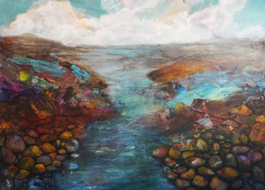"""Painting titled """"Remembrance of Scot…"""" by Dora Stork, Original Art, Acrylic"""