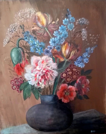 Painting, acrylic, classicism, artwork by Krughoff