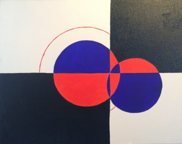 """Painting titled """"Eclipse of the Bloo…"""" by Simon Farnell, Original Art, Acrylic"""