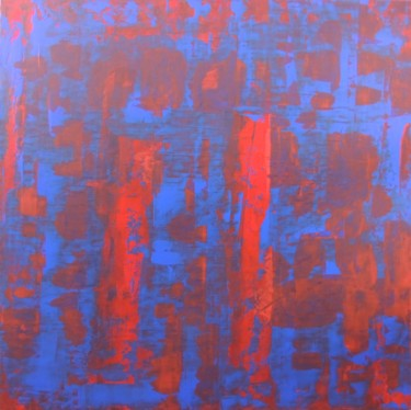31.5x31.5 in © by DS Abstract Art paintings