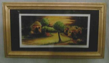"""Painting titled """"L'abule areke'mase"""" by Duduhandsome, Original Art, Oil"""