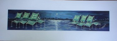 """Painting titled """"there is peace here"""" by Duduhandsome, Original Art, Oil"""