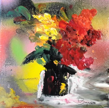 Color Painting, acrylic, abstract, artwork by Jean-Pierre Duquaire