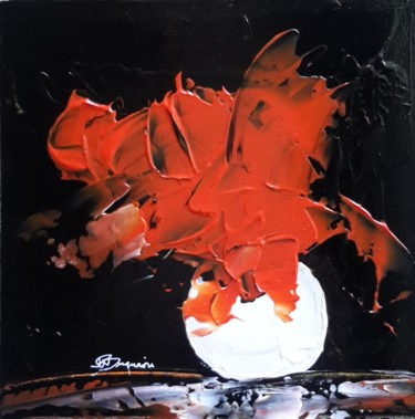 Abstract Painting, acrylic, abstract, artwork by Jean-Pierre Duquaire