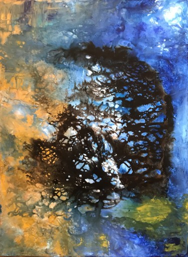 """Painting titled """"Ethereal"""" by David Vall, Original Art, Acrylic"""