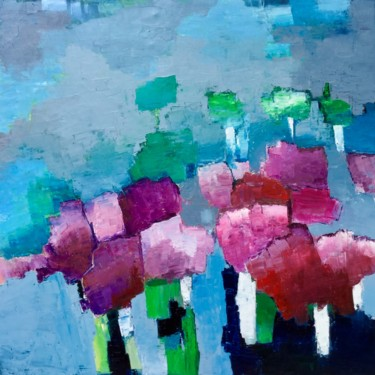 Painting, abstract, artwork by Eliane Boivin