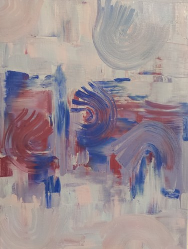 Abstract Painting, oil, abstract, artwork by Esmira
