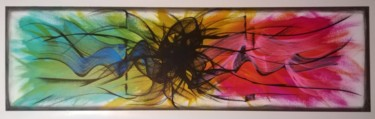 15,8x47,2x0,8 in ©2020 par Trä  Abstract Painting
