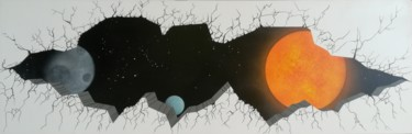 15,8x47,2x1,6 in ©2020 par Trä  Abstract Painting