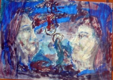 16.5x23.2 in ©2000 by Edna Cantoral Acosta