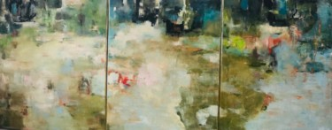 Abstract Painting, oil, abstract, artwork by Elena Zouain