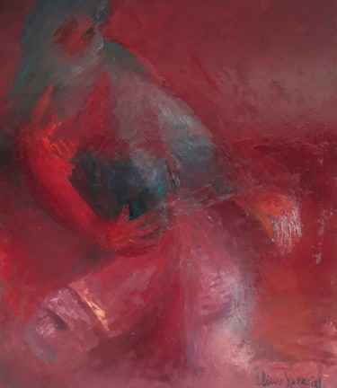 Abstract Painting, oil, abstract, artwork by Eliane Ypersiel