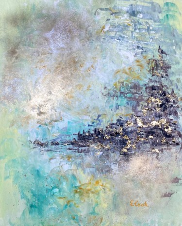 """Painting titled """"The Light at the En…"""" by Elisa Cook, Original Art, Acrylic"""