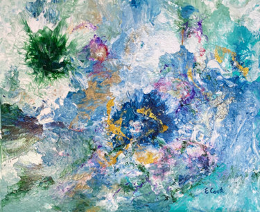 """Painting titled """"Summer Scents"""" by Elisa Cook, Original Art, Acrylic"""