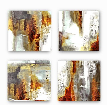 """Painting titled """"Amber (4)"""" by Olena Topliss, Original Art, Acrylic"""