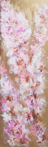 """Painting titled """"Japanese cherry blo…"""" by Els Driesen, Original Art, Acrylic"""