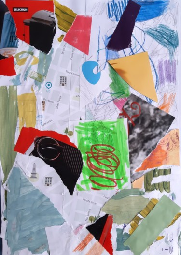 """Collages titled """"Street Geometry Col…"""" by Emil Borisov, Original Art, Collages"""