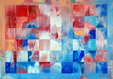 Abstract Painting, acrylic, abstract, artwork by Emil Hasenrick