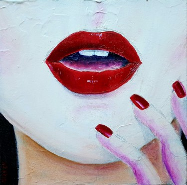 """Painting titled """"Glamour"""" by Emily Starck, Original Art, Acrylic"""