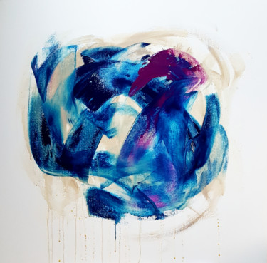 Painting, acrylic, abstract, artwork by Emily Starck