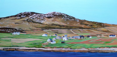 """Painting titled """"Owey in Late Spring…"""" by Emma Cownie, Original Art, Oil"""